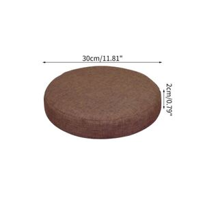 Round Chair Cover Elastic Bar Cafe Stool Slipcover Seat Cushion Protector Solid