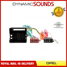 CT20OP02 Car Stereo Radio ISO Harness Adaptor Wiring for Opel Corsa 2004-2014