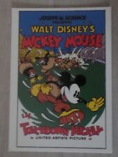 Carte Postale Walt-Disney Mickey Mouse - Postcard
