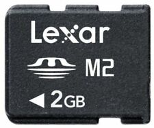 Lexar 2GB 2G MEMORY STICK MICRO M2 Card For Sony Ericsson Phones SONY Camera PSP