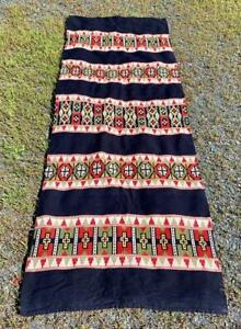 """MUSEUM QUALITY NORWEGIAN TEXTILE WEAVING 1800s XL 9' x """"3' HANDWOVEN TAPESTRY"""