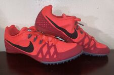 Nike Zoom Rival M Track Cleats Orange Red 806555-614 Size 13