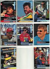 1995 Traks 75-card Racing Set ++ 25 card Behind the Scenes Set  Gordon Earnhardt