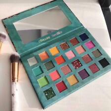 24 Colors Eye Shadow Palette Avocado Green Shimmer Matte New Eyeshadow O1I7