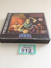 Sega Mega C-d Eternal Champions Challende From The Dark Side
