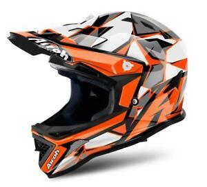 Airoh Junior Archer Chief Orange MX Enduro Moto Cross Kinder Kids Quad MTB