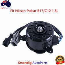 New Radiator Fan Motor Assembly Front For Nissan Pulsar B17/C12 1.8L 2012-2017
