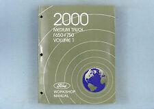 Workshop Manual, Vol. 1, 2000 Ford Medium Truck, F-650, F-750, FCS-12864-00-1