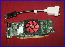 Dell SFF Radeon HD 6450 1GB GDDR3 DVI DP PCIe Graphics Video Card w/Cable NFXD5
