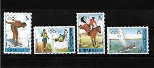 Bermuda, 1982 Los Angeles Olympics complete set MNH (B149)