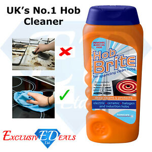 Hob Brite Hob Cleaner Powerful Electric Halogen Ceramic Hobs Cleaner - 250ml