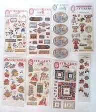 Mary Engelbreit Sticker Lot over 150 Melissa Neufeld Birdhouses Queen Everything