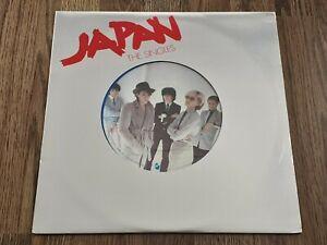 JAPAN - THE SINGLES LP MINI ALBUM 1981 HANSA DAVID SYLVIAN EX+