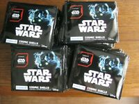 Lot 75 paquets Cosmic Shells Star wars Série 2