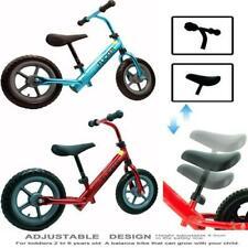 Kids Balance Bike Running Walking Training Bicycle Kids Gift Adjustable Seat UK