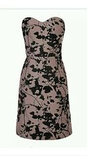 NEW ❤️COAST❤️Size 14 MIRAH JACQUARD Bandeau DRESS RRP £195
