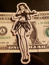 Magpul Authentic grass skirt girl Sticker