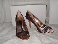 Alfani New Womens 9.5 M Rumor Pink Petal Lace Heels Shoes NWB