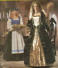 1999 Renaissance Dress Costumes Pattern Size 4/6/8 McCall's 2242 OOP