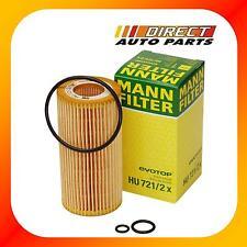 OEM Mercedes-Benz Class E320 Diesel Oil Filter HU721/2x MANN-FILTER
