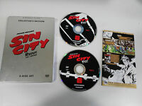 SIN CITY RECUT XXL EDITION 2 DVD STEELBOOK ENGLISH DEUTSCH - GERMAN COLLECTOR ED