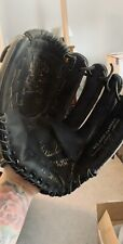 "New listing Easton 12.5"" Black Magic Leather Baseball  Glove, Left hand"