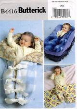 Butterick Fleece Baby Items Pattern B4416 UNCUT