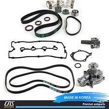 For Hyundai Kia 2.4L Timing Belt Kit Water Pump Tensioner Valve Cover V-Belt