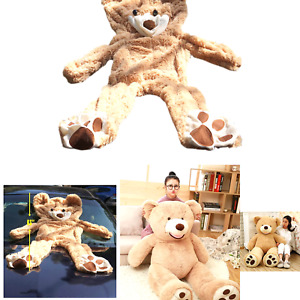 Life Size Huge Plush Teddy Bear Unstuffed Soft Giant Animal Toy (63 inch/ 5.2...