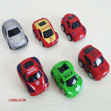6 Marvel Avengers 3 Infinity War Hulk Thor Diecast Model Vehicle Kid Playset Toy