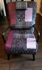 refurbished /reupholstered, vintage, accent, statement chair