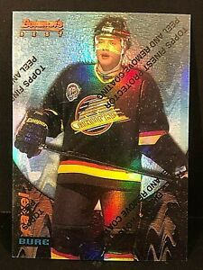 PAVEL BURE 1994 Topps Finest Bowman's Best REFRACTOR SP #11 Vancouver Canucks