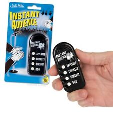 Instant Audience Button