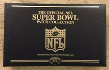 Official NFL Super Bowl Patch Collection 1-52 Willabee & Ward