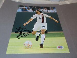 Landon Donovan Signed Team U.S.A. 8x10 Photo Soccer Autographed PSA/DNA COA 1A