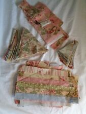 (2771) CAN YOU FINISH THIS PROJECT? Cut fabric for quilt STARTED pretty