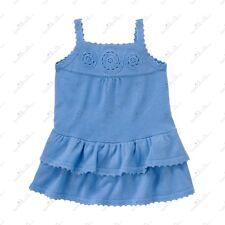 NWT GYMBOREE GREEK ISLE BLUE CROCHET SWEATER  SUN DRESS SIZE 3T