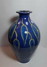 Grande Vaso Ceramica TORVISCOSA CTA Italy Angelo Biancini Design cm 43 RARO