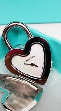 Tiffany and Co. Please return to Tiffany Locket heart watch pendant