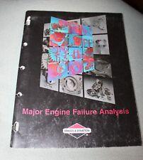Briggs & Stratton Customer Education Major Engine Failure Analysis