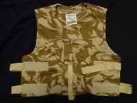 British Army Body Armour IS COVER / Vest - DESERT DPM 180/116 Grade 1 NO ARMOUR