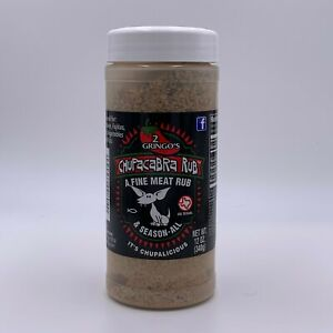 2 GRINGOS CHUPACABRA SEASON ALL ORIGINAL 12 OZ SPICE HERB BBQ SEASONING