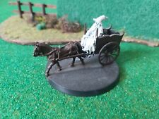 Lord of the rings warhammer Gandalf On Cart Metal