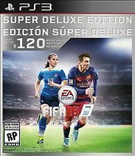 FIFA 16 -- Super Deluxe Edition (Sony PlayStation 3, 2015) NEW!!!!!