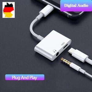 ✅ Samsung Ipad USB C Kopfhörer Adapter Ladebuchse 2in1 Typ C 3.5mm Klinke Aux ✅