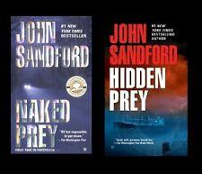 Naked Prey & Hidden Prey: Prey/Lucas Davenport series #14-15 2xPB John Sandford