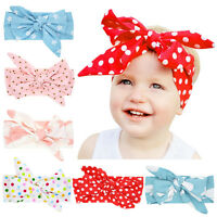 Lovely Baby Kids Baby Girls Toddler Bow Headband Hair Band Accessories Headwear