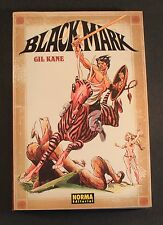 2005 Norma comics BLACKMARK BLACK MARK GIL KANE in Spanish new old store stock