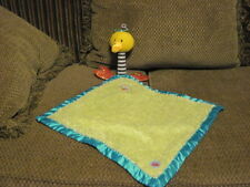 RARE Plush Kushies Kritters KU KU BIRD Plush Security Blanket Lovey (g19)