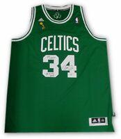Paul Pierce Signed Auto Cetlics Jersey Finals Patch 08 Champs Finals MVP Beckett